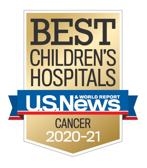 U.S. News and World Report Best Children's Hospitals Cancer Award