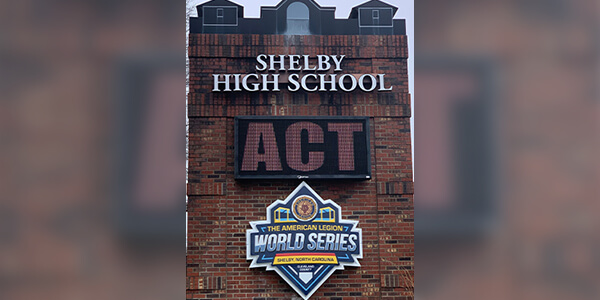 Shelby High School.