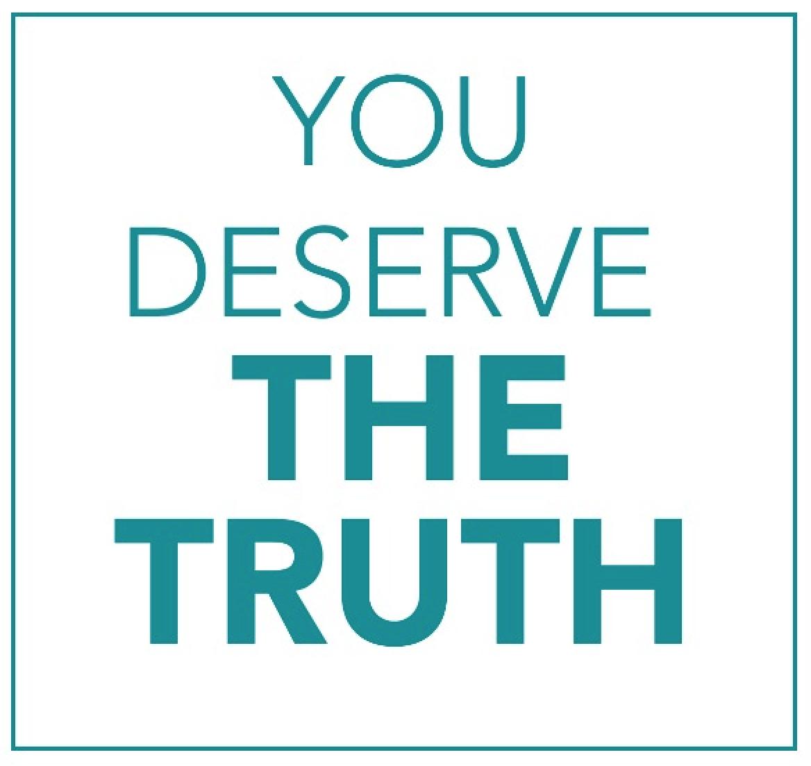 You Deserve the Truth | Carolinas HealthCare System is Atrium Health