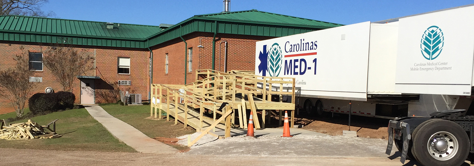 Carolinas MED-1 construction