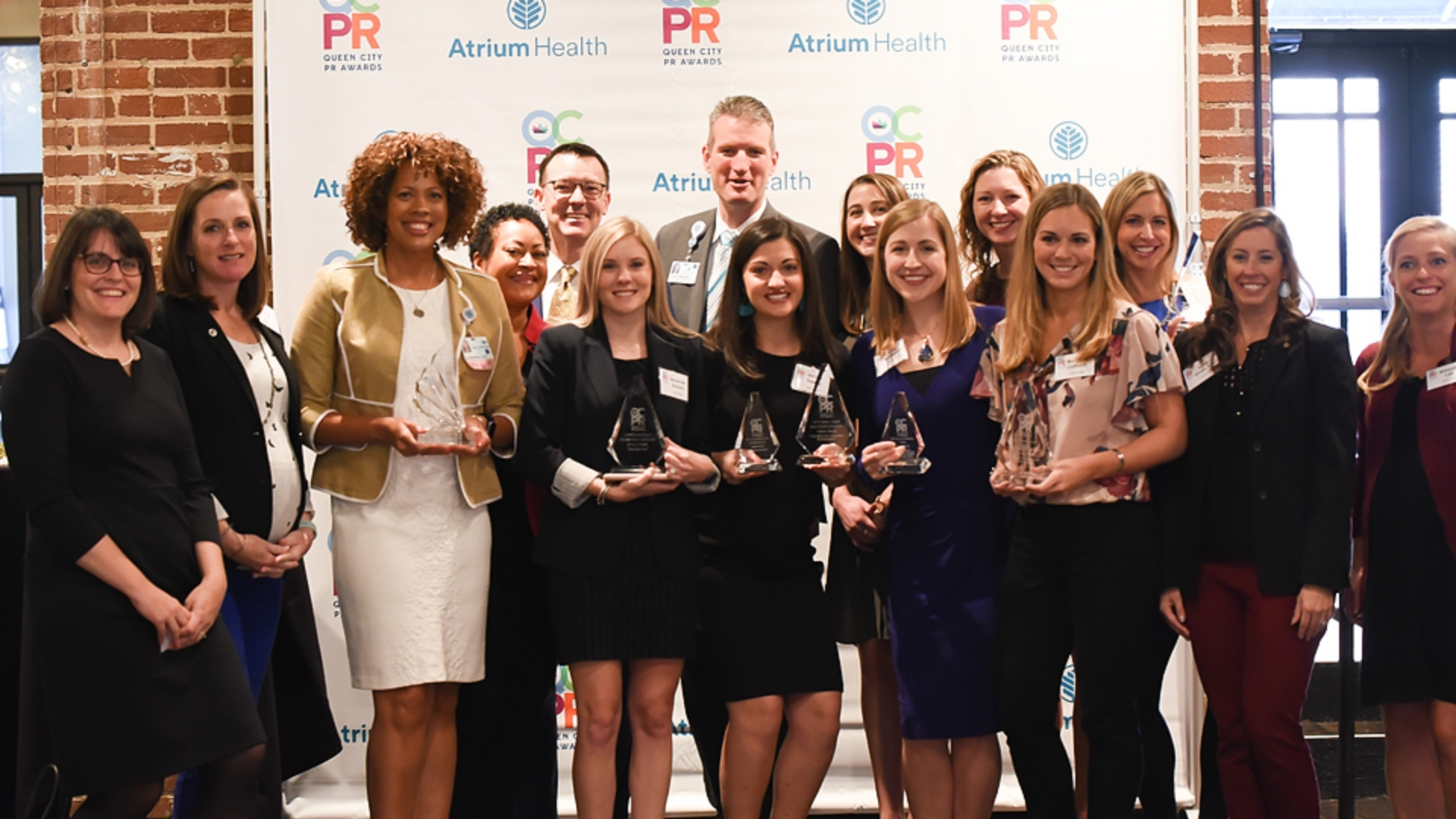 Atrium Health's Corporate Communications team received local and regional recognition from the Public Relations Society of America (PRSA) Charlotte chapter for leading strategic and effective communications campaigns.