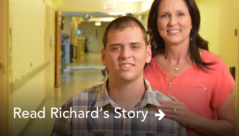 Read Richard's Story