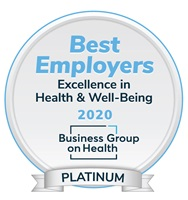 Best Employers: Excellence in Health & Well-Being Platinum Award