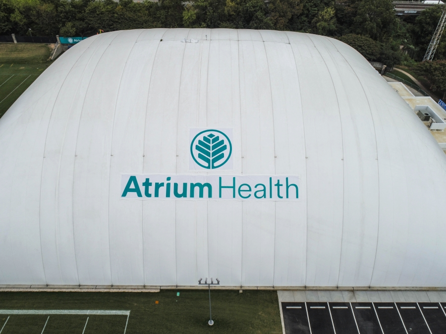 Partnership between Panthers and Atrium Health includes the team's new practice facility, the Atrium Health Dome.