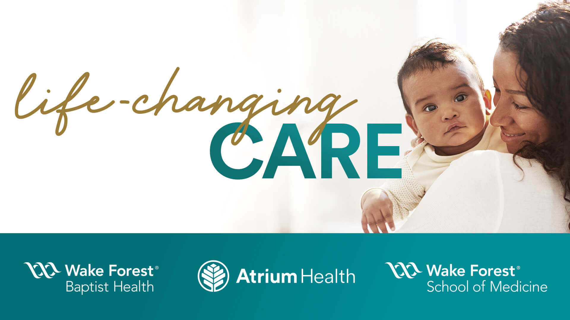 Atrium Health and Wake Forest Baptist Health join together.