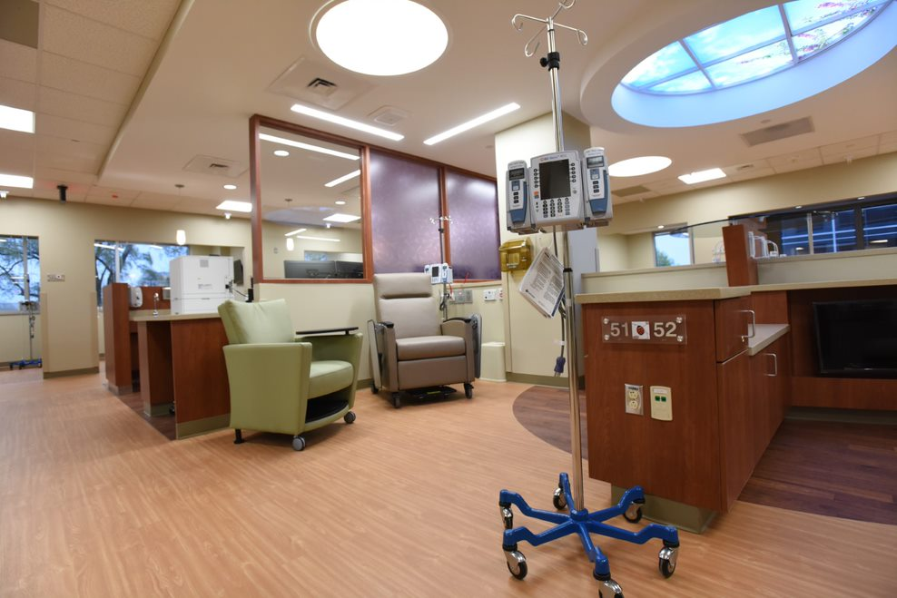Interior of Levine Cancer Institute II