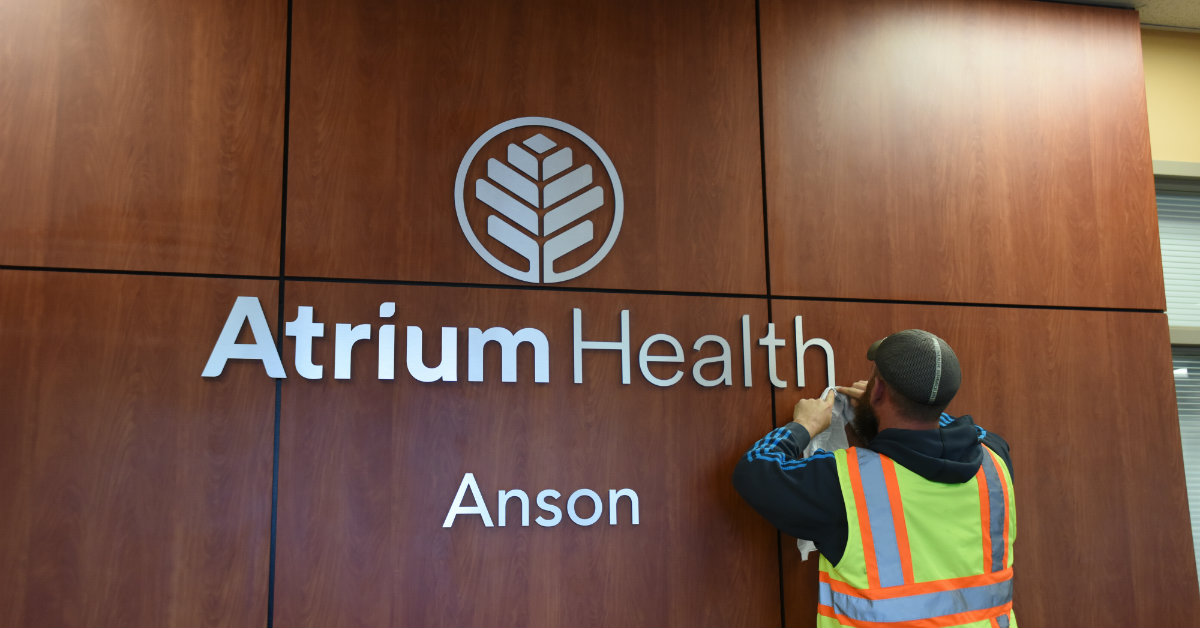Atrium Health Anson became the hospital's official name on January 1, 2019.