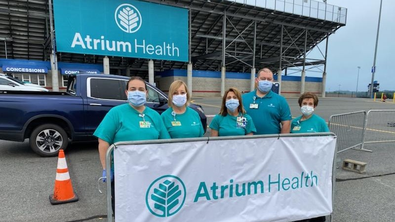 Atrium Health sports medicine teammates shifted gears after professional sports effectively shut down due to COVID-19. They shifted yet again to help get NASCAR back on track.
