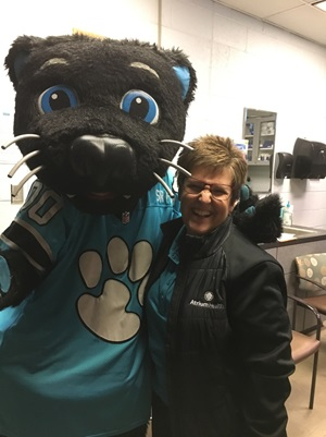 Connie and Sir Purr
