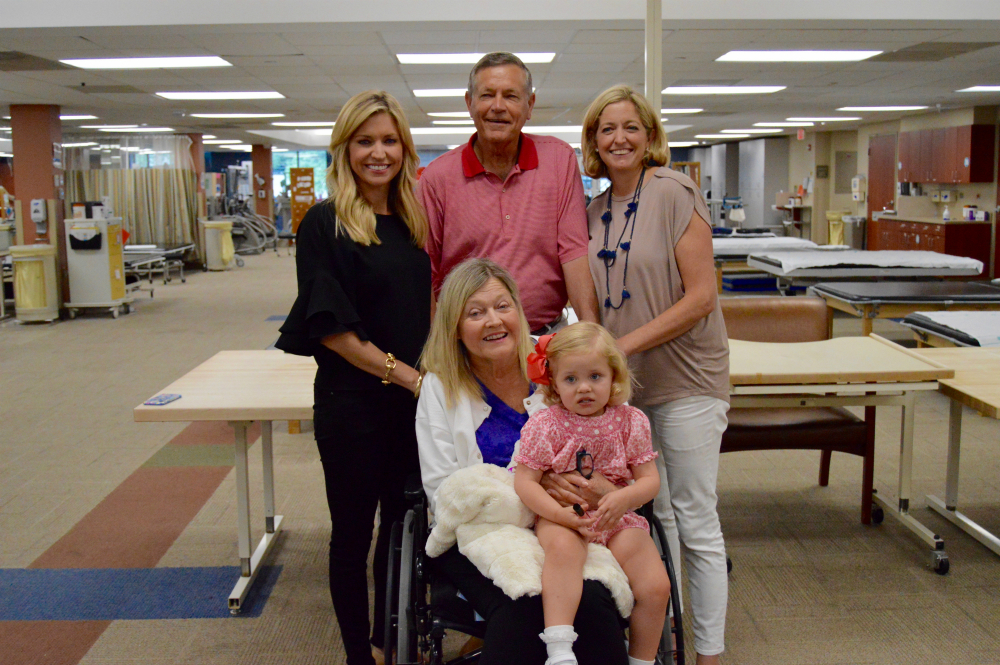 After suffering a major stroke in addition to several other complex medical issues, Dale Earhardt is expected to make a significant recovery thanks to the team at Carolinas Rehabilitation.