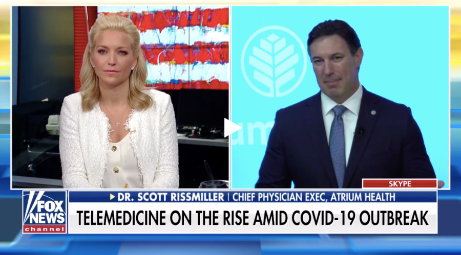 Dr. Scott Rissmiller speaks on Fox News about the expansion of telehealth coverage under the care of Medicare plans.