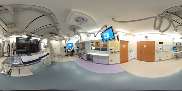 The new cardiac catheterization space at Levine Children's Hospital features two advanced biplane cardiac catheterization suites. Cardiac catheterization, or heart cath, gives doctors details about how well a heart works, and allows many patients to be treated without open heart surgery.