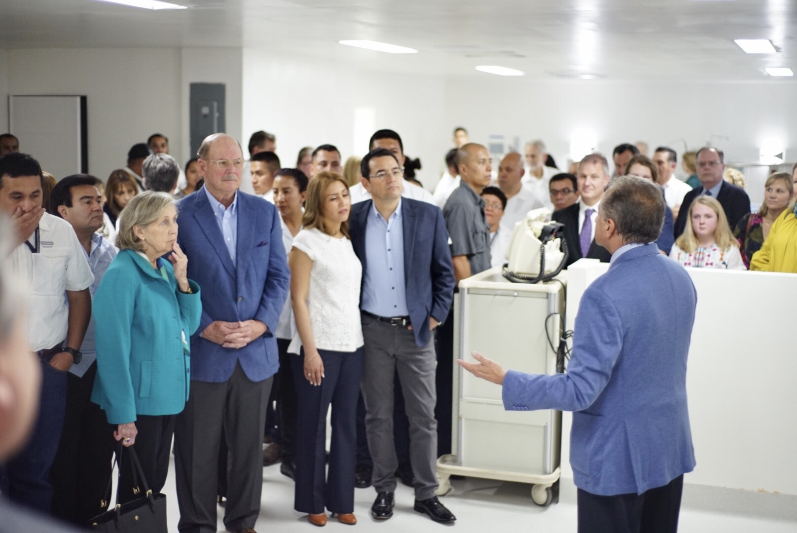 Carolinas HealthCare System employees are in Guatemala for the grand opening of Central America's most innovative neonatal, pediatric intensive care unit.