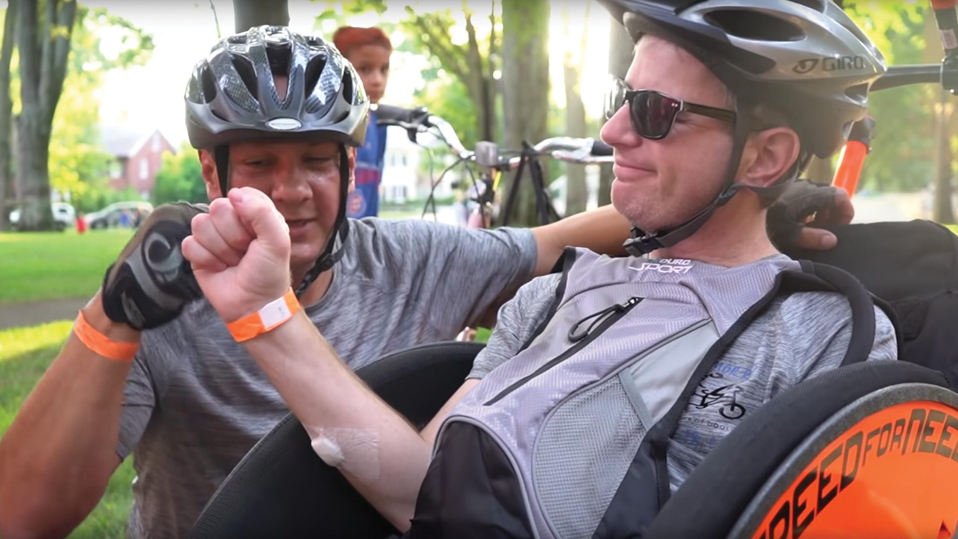 John Morris, a Levine Cancer Institute patient, rides in the 17th annual '24 Hours of Booty'