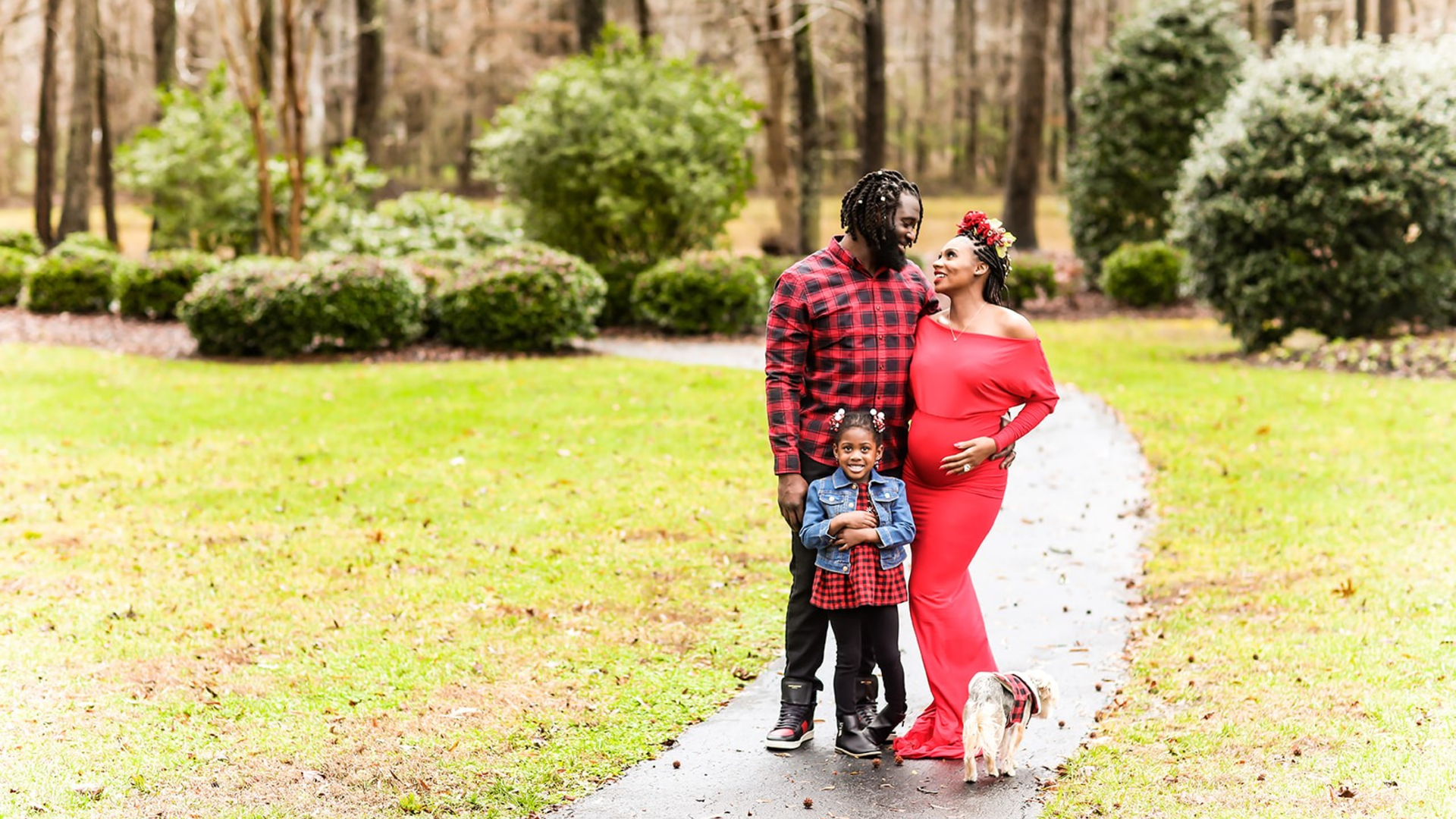 Kiki Searcy is an athlete who's also married to a professional football player, so she's no stranger to hard work and physical challenges. But when Kiki was pregnant with her son, she faced a tremendous number of obstacles. Luckily, she came through it like a champ and she and her husband now have two healthy children, Kenna and Dominick.