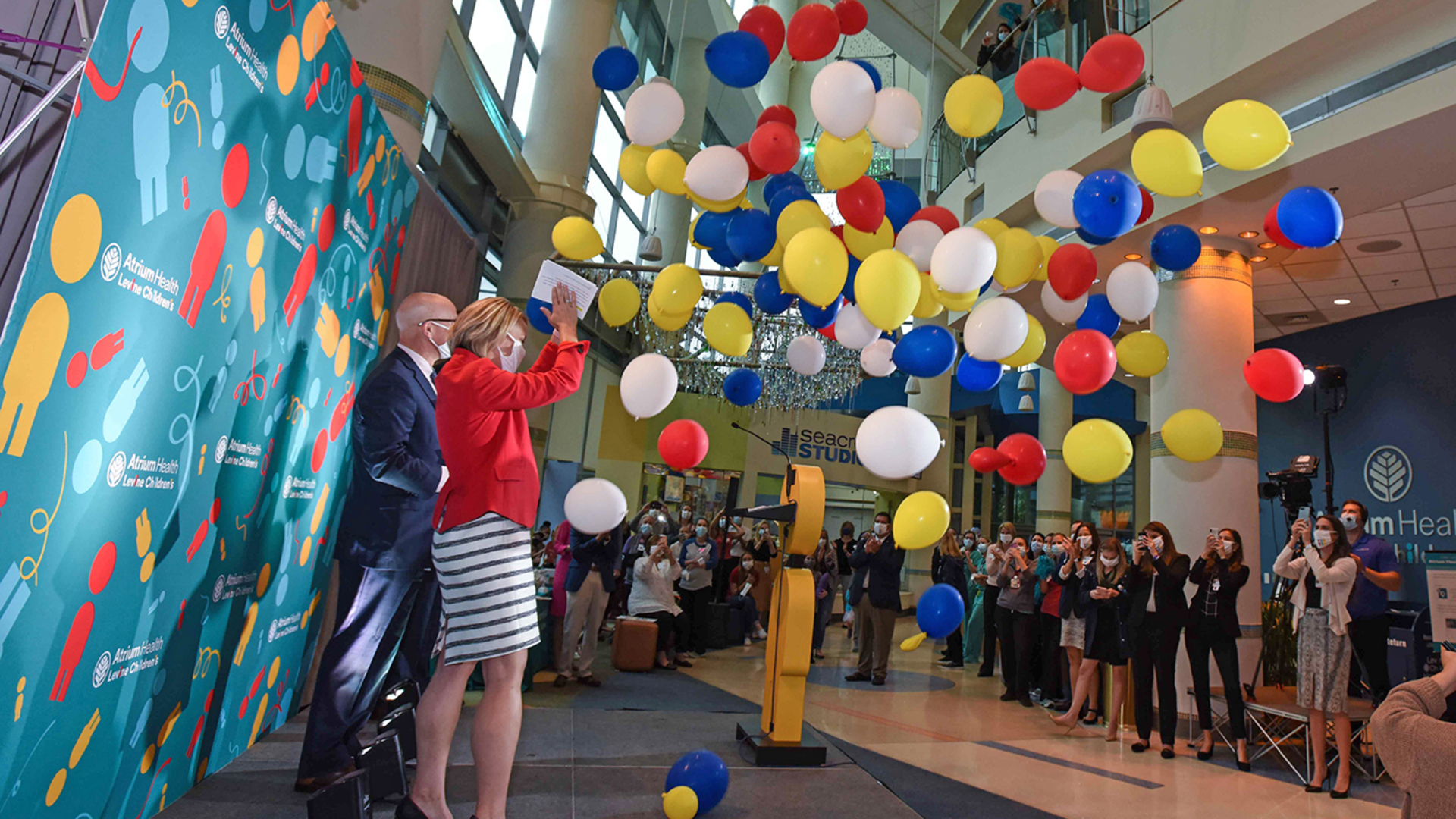 At Atrium Health Levine Children's, we're not just inspired by kids' dreams. We're committed to making them come true. That's why we're the only children's hospital in the region to be named a Best Children's Hospital by U.S. News & World Report for 13 years in a row. And this year, we're ranked in more specialties than ever.