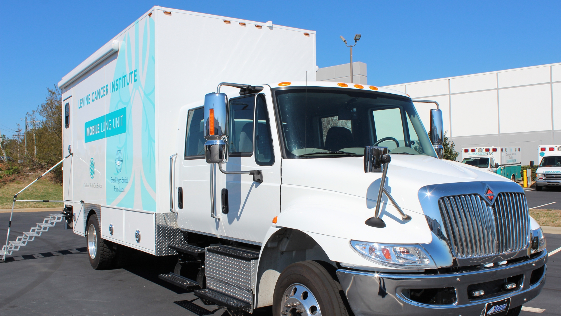 Levine Cancer Institute built the nation's first mobile lung cancer screening unit to help save lives. For Herbert Buff, that's exactly what it did.