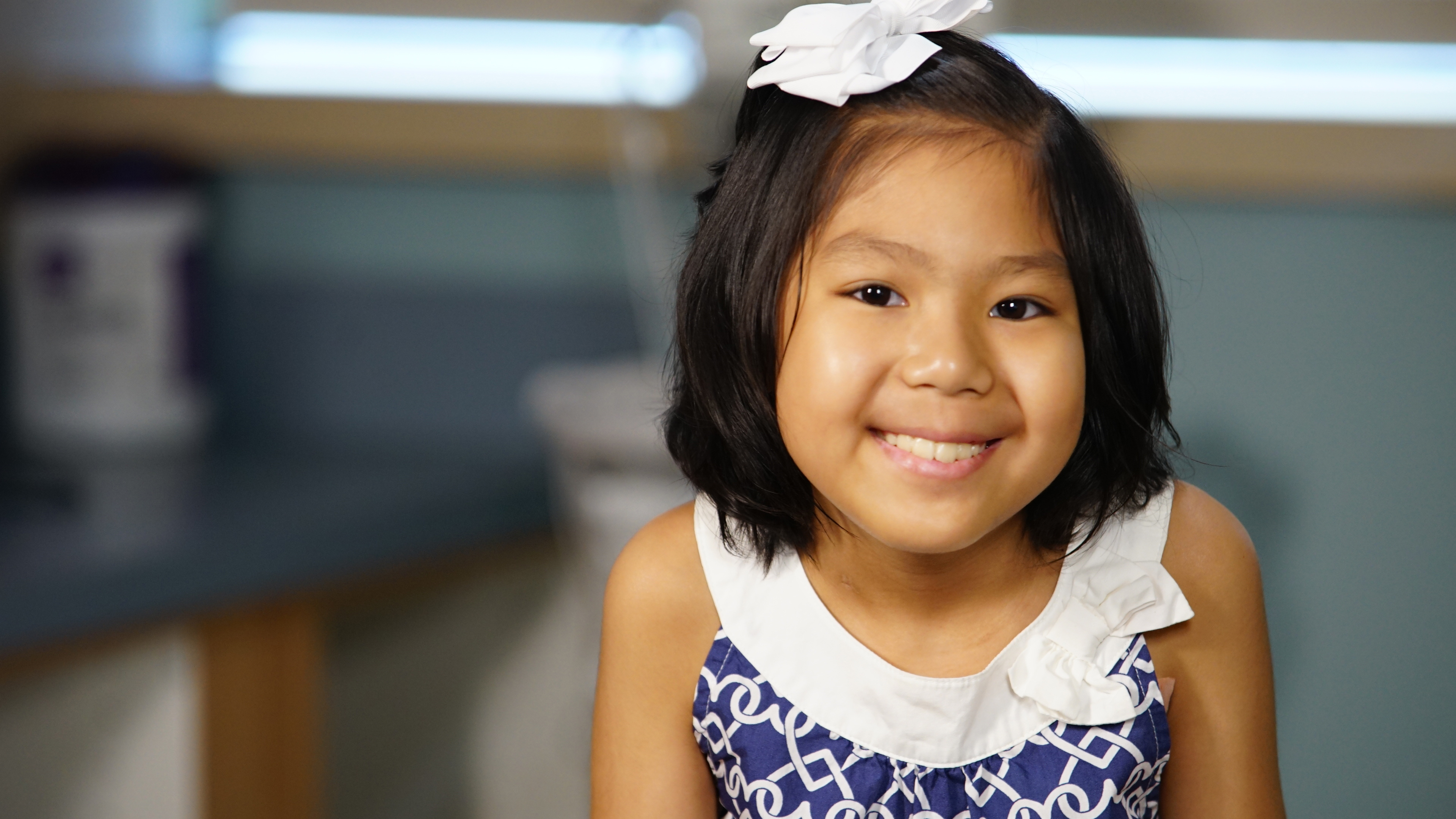 Mya McKenzie Nguyen is only 9 years old, and she has already beaten cancer six times. How? With the heart and courage of a lion – plus a nationwide search for new treatments that always led her family back home to LCH.
