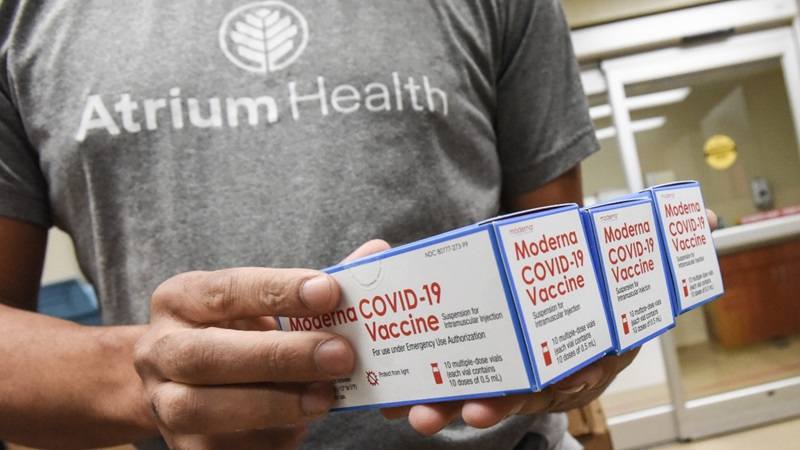 Atrium Health Has Received Moderna COVID-19 Vaccine