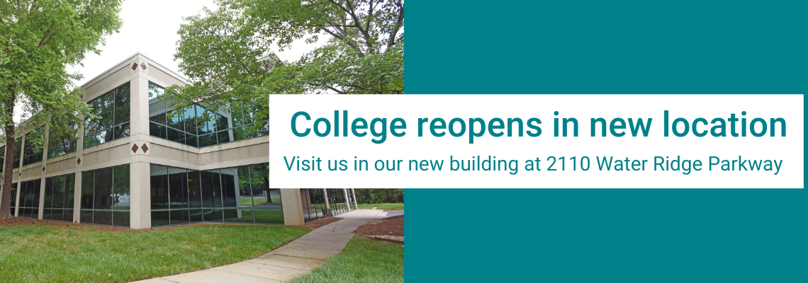 College reopens in new location at 2110 Water Ridge Parkway