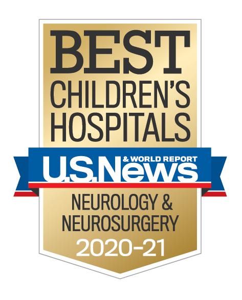 U.S. News and World Report Best Children's Hospitals Neurology and Neurosurgery Award
